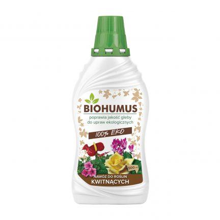 Agrecol Biohumus nawóz do roślin kwitnących 500ml