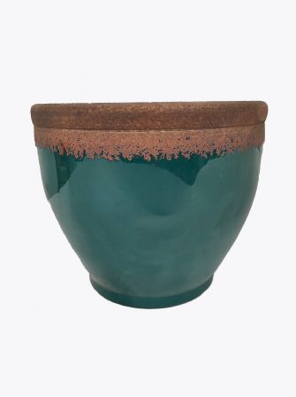 Doniczka ceramiczna turkus Ø32cm