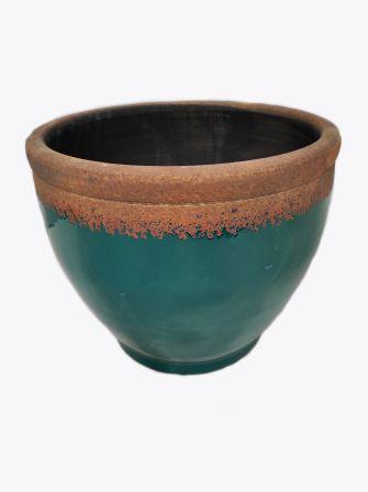 Doniczka ceramiczna turkus Ø39,5cm