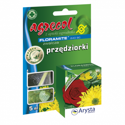 Środek przędziorkobójczy Agrecol Floramite 240 SC 5ml
