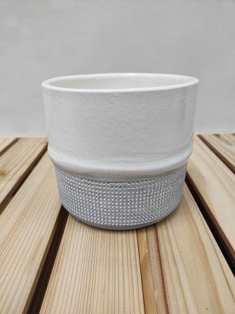 Osłonka doniczka ceramiczna 12cm