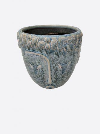 Doniczka ceramiczna osłonka głowa
