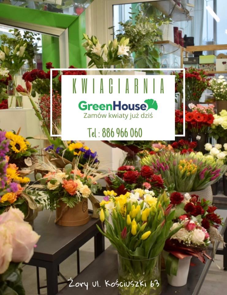 Kwiaciarnia Żory, Bukiety, Flower Box, Green House